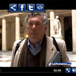 Video sur le site de la Provence Avril 2011
